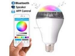 Bombillo Bluetooth 2en1 Luz de Color