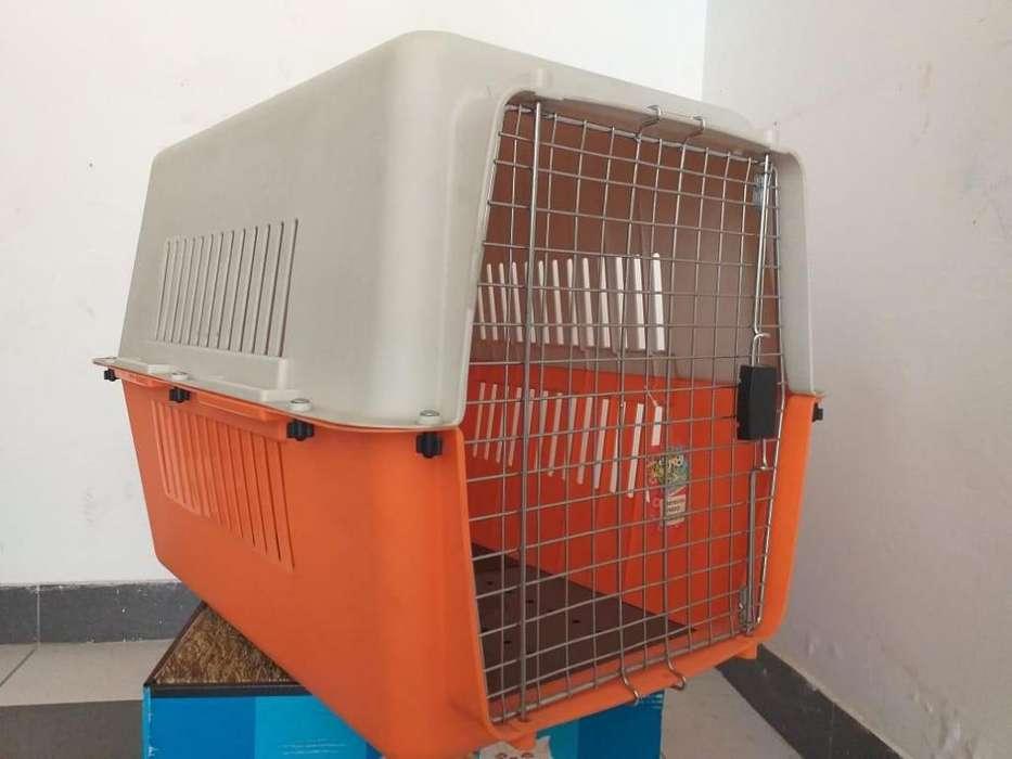 Guacal para perro grande 80x60x55 cm (Huacal)