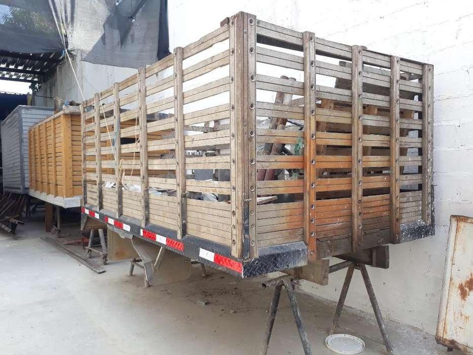 Carrocería en Madera