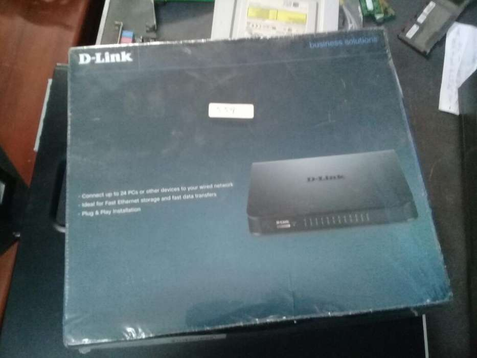 Switch Dlink 24 Puertos 10/100mbps