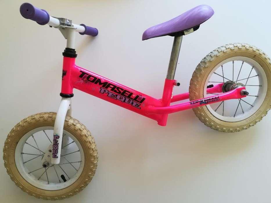 Bicicleta sin Pedales Tomaselli Pata Pat
