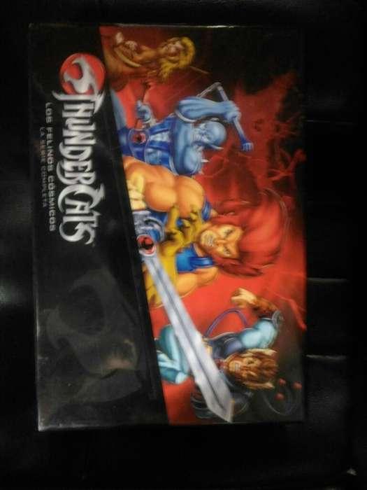 Thundercats Serie Completa Dvd Español