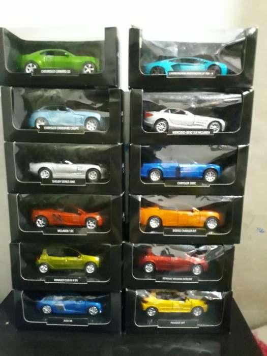 Colecion de Autos a Escala