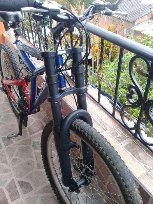 Bicicleta con Buenos Componentes