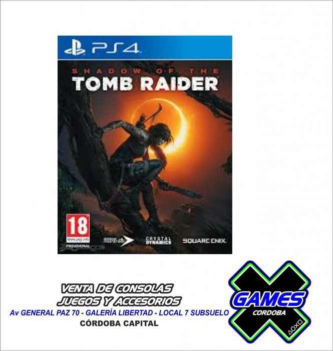 TOMB RAIDER PARA PS4
