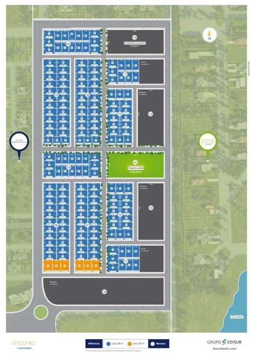 Terreno en venta en Rincones de Manantiales. 258 m2 apto duplex, listo para construir