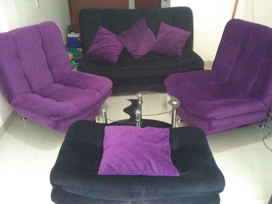 Sala reclinable usada