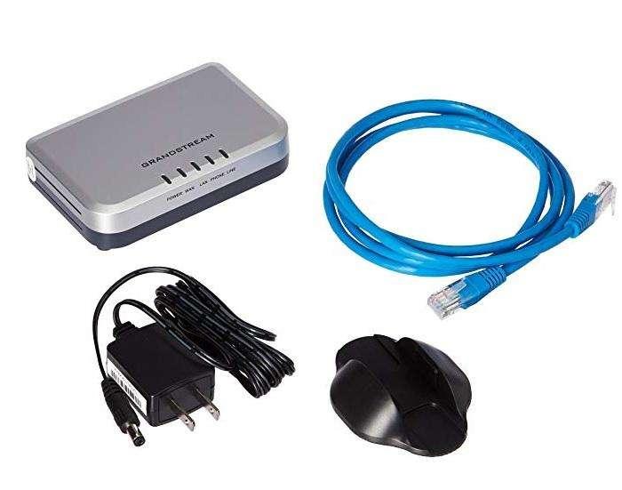 Grandstream ht503 1fxs/1fxo Gateway VoIP Gateway NUEVO