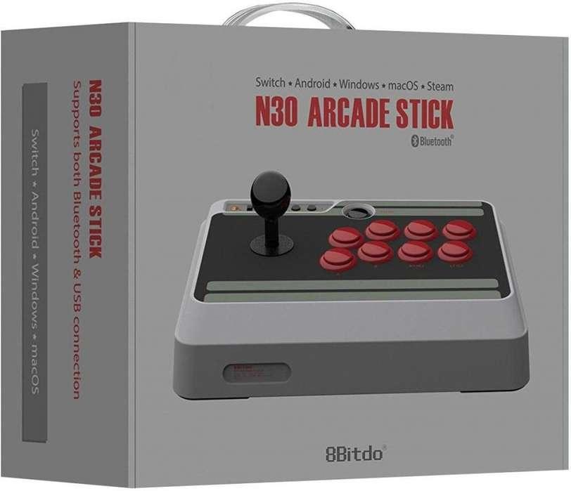 Arcade Stick 8bitdo Original, Bluetooth, Pc, Mac, Android