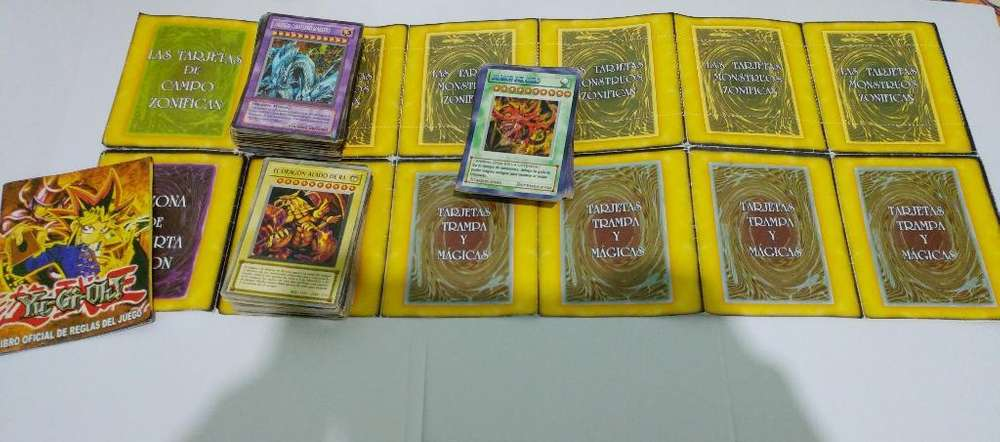 Vendo Cartas de Yugiho No Originales