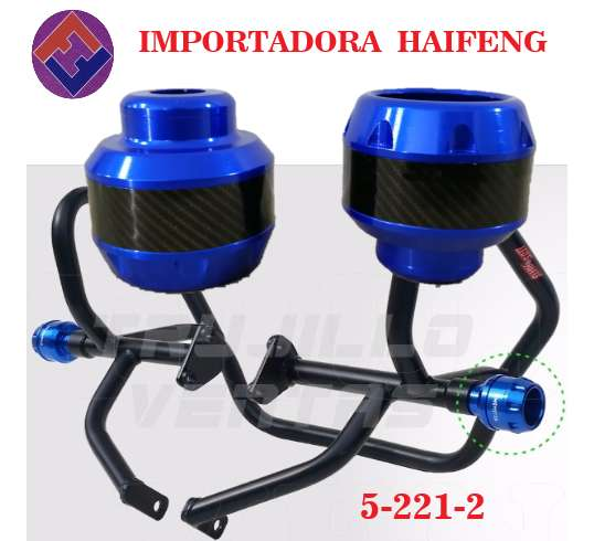 topes anticaida para moto lateral HAIFENG