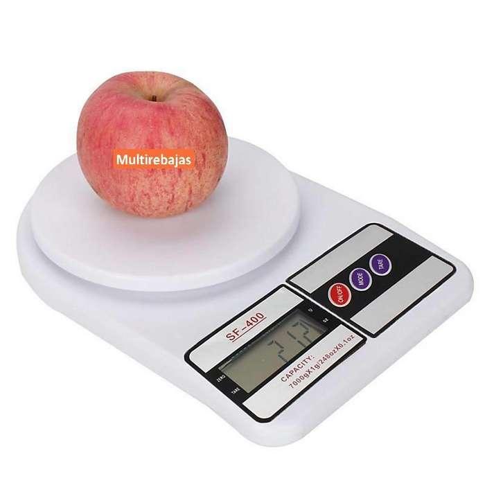 Balanza Gramera Digital De 7kg Ideal Para la Cocina
