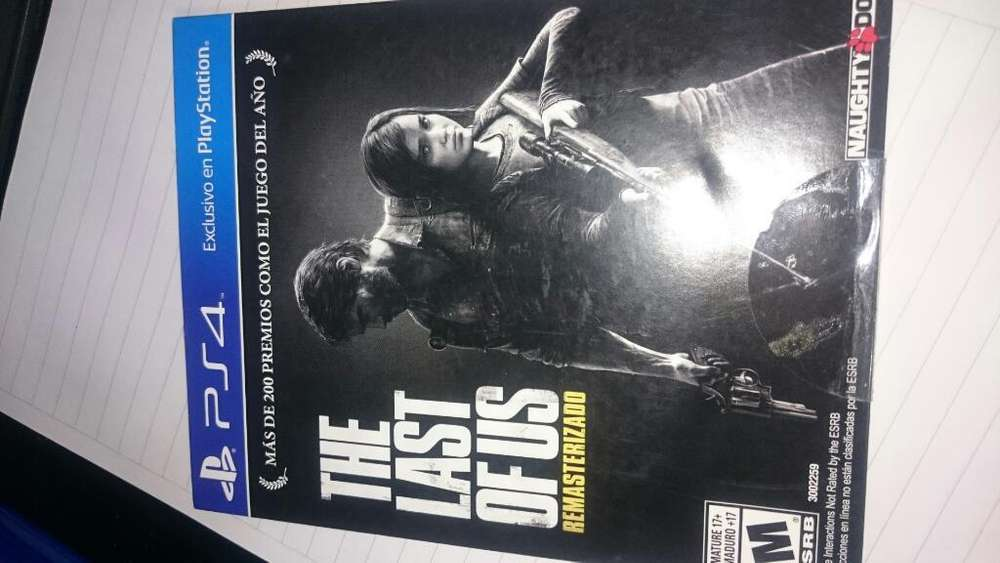 The Last Of Us Ps4 Fisico