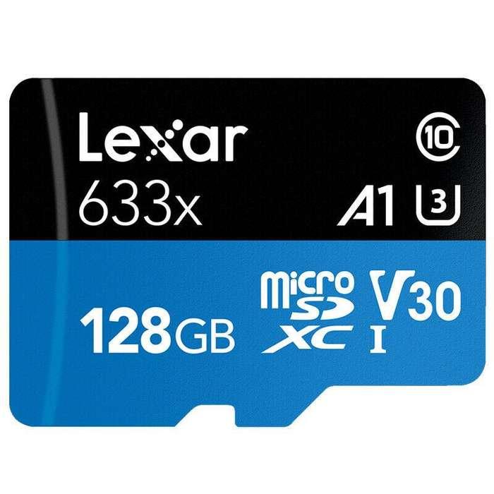 Micro SD de 128 GB Lexar