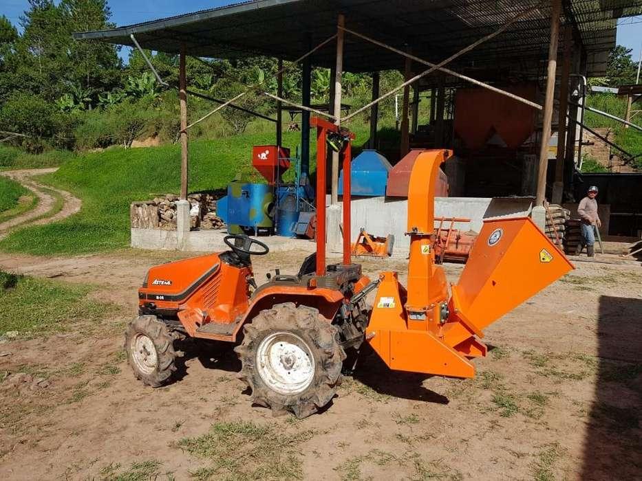 Chipeadora para Tractor Agricola