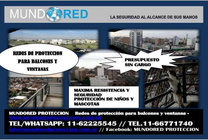 Redes de protección para balcones y ventanas en BERAZATEGUI #MUNDORED PROTECCION#