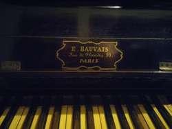 Piano E.bauvais 99. Paris