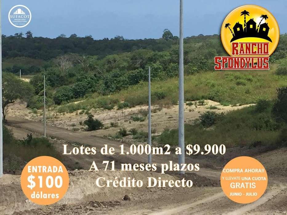 CONSTRUYA SU CASA DE <strong>campo</strong> / TERRENOS DESDE 1000 M2 / 100USD DE ENTRADA SD3