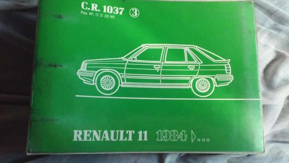 Catálogos de desarme y listado de repuestos Renault