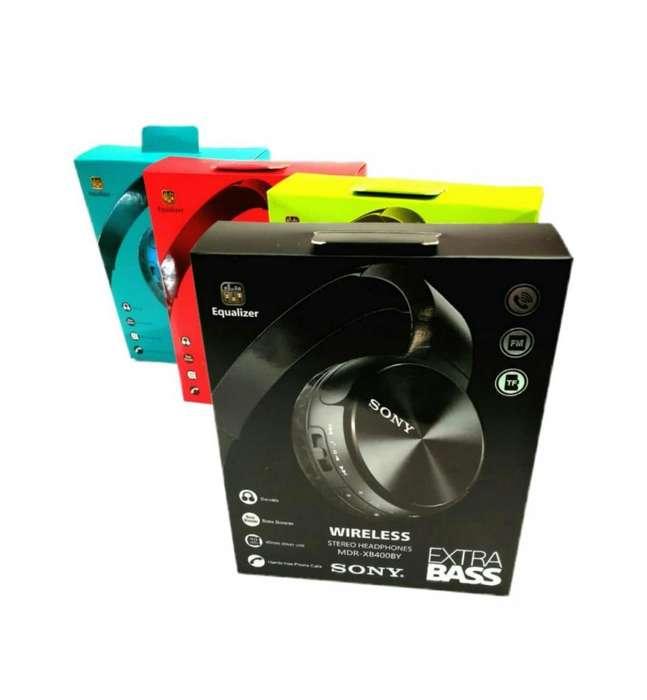 Audífonos Sony Bluetooth Mdr400,fm, Llamadas