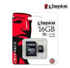 MICRO SD KIGSTON 16GB