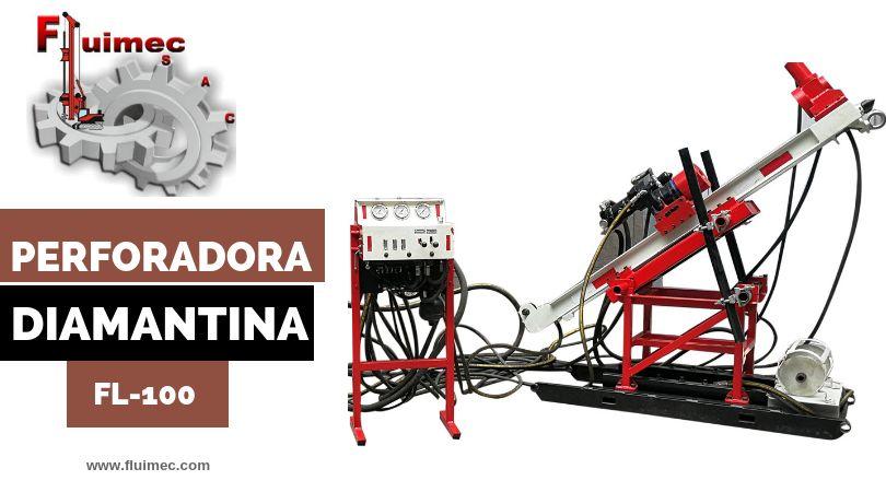 PERFORADORA DIAMANTINA FL-100 - PASANTE AQ