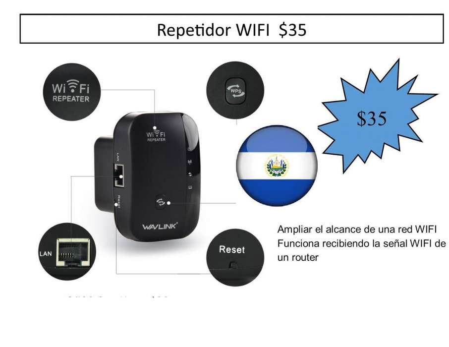 Repetidor WIFI INALAMBRICO