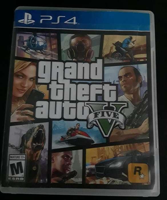 GTA V para PS4 (10/10)