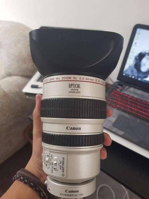 Lente Canon Original 16x Video Camara