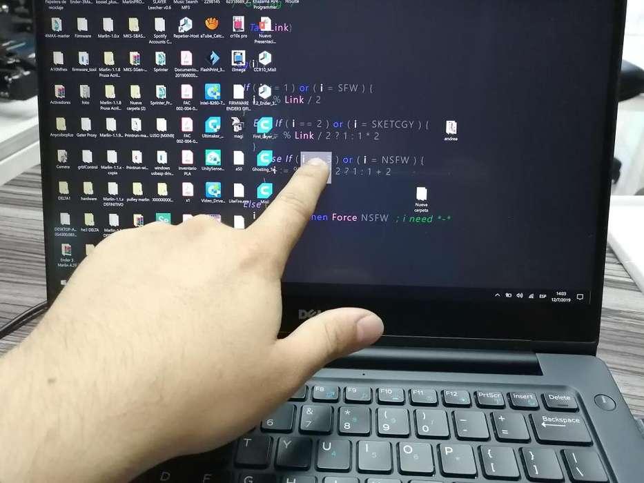 Laptop Dell Latitude 7370 como nueva, Pantalla Tactil - Intel m7-6Y75