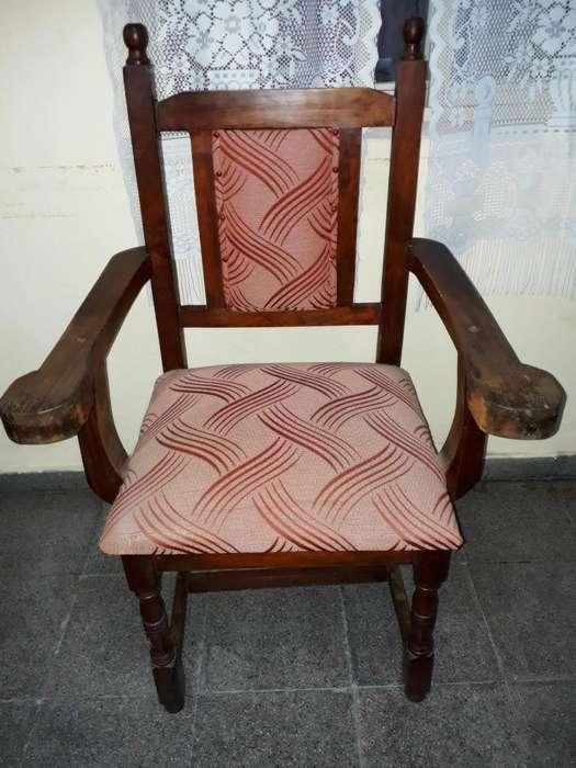 Vendo sillón de algarrobo