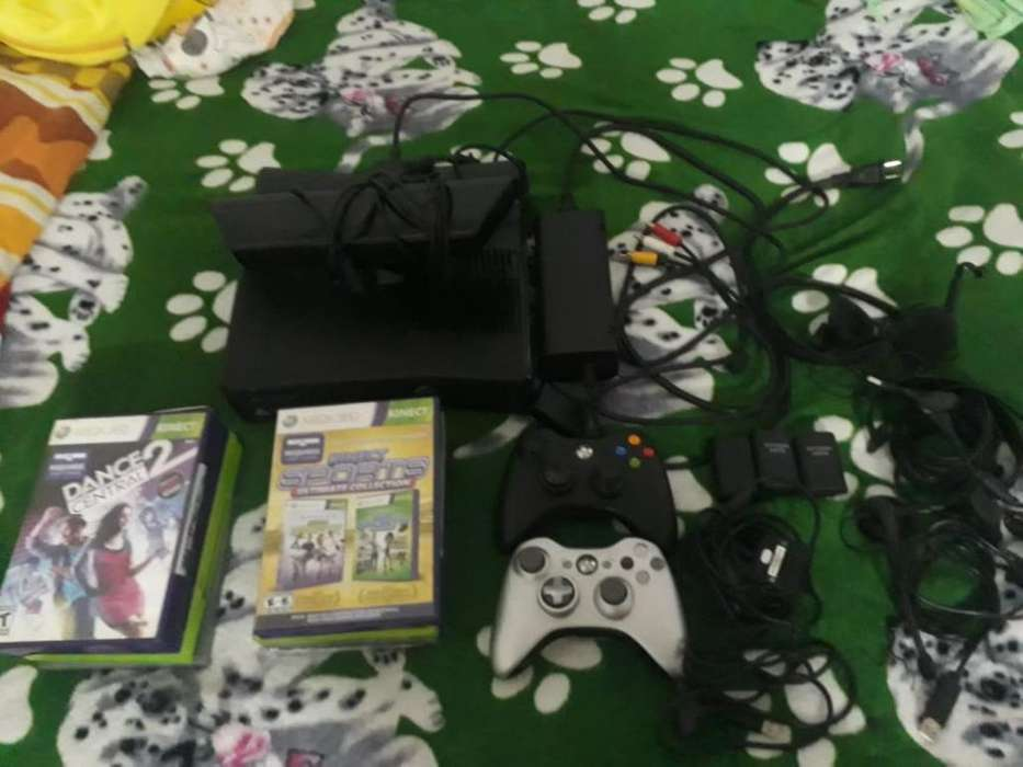 Xbox 360 Dos Controles 10 Juegos