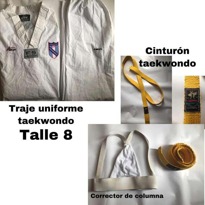 Traje uniforme taekwondo