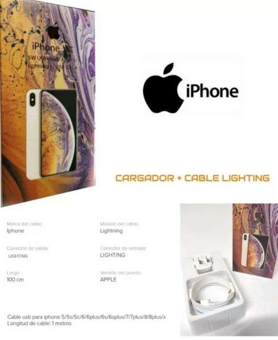 Cargador de iPhone Original Todo Modelo