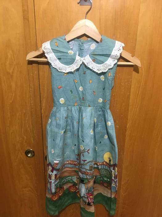 Halloween. Vestido de Nena.