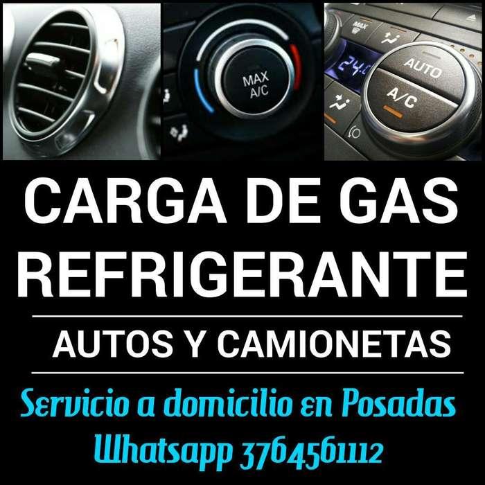 Servicio de Carga de Gas a Vehiculos