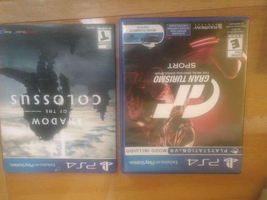 Juegos Ps4 Colossus Y Gran Turismo