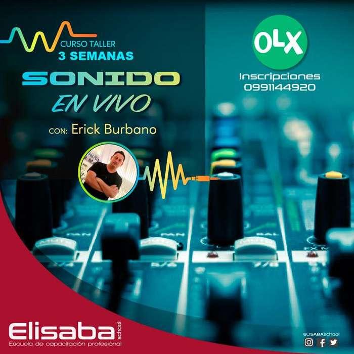 Curso de Sonido en Vivo ( Elisaba School )