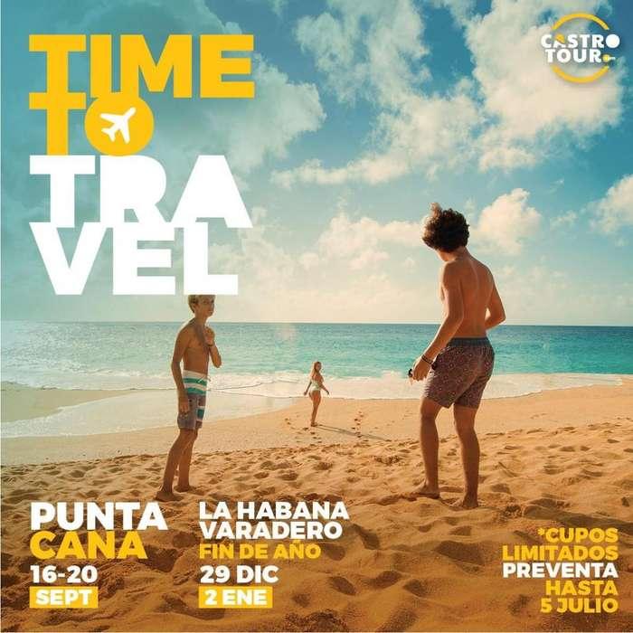 Tour fin de año en Cuba (Habana y Varadero) 29 dic 2019 al 2 ene 2020