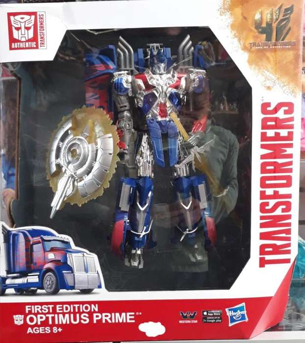 TRANSFORMERS OPTIMUS FIRST EDITION