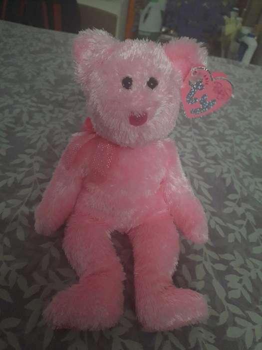 Hermosa Osita Beanie Pinkys Ty