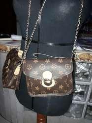 924fe1f52 ... Mini Cartera Tipo Louis Vuitton Bolso ...