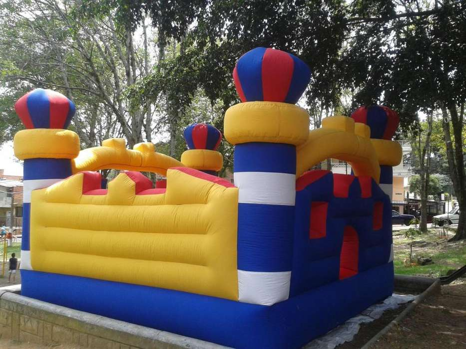 INFLABLE TIPO CASTILLO