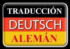 Alemán a Español Traducciones Técnicas 2019