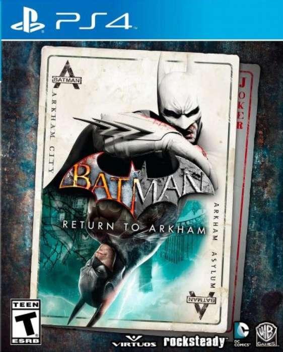BATMAN RETURN PS4