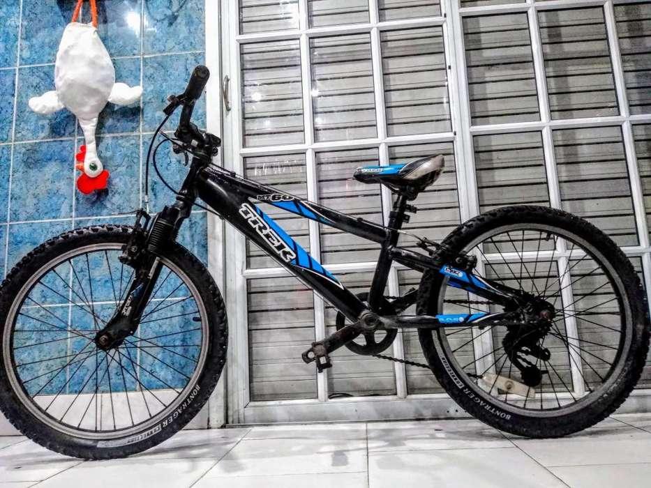 Bicicleta Rodado 20 Trek Andando
