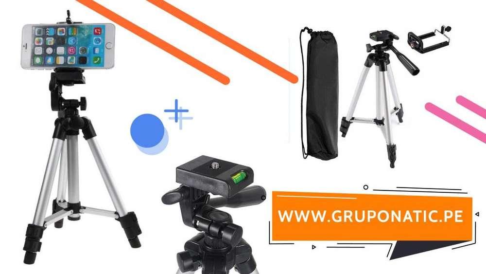 Trípode de aluminio celulares y cámaras Gruponatic San Miguel Surquillo Independencia La Molina Whatsapp 941439370