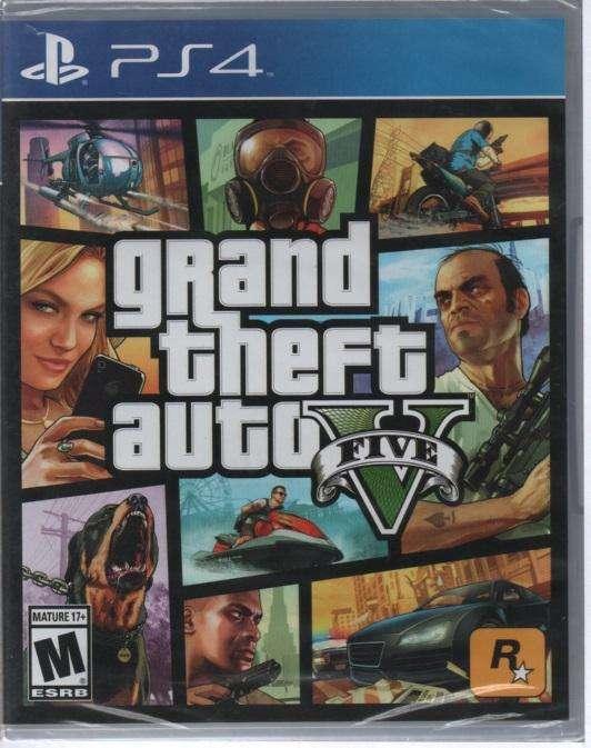ps4 Gtrand Theft Auto