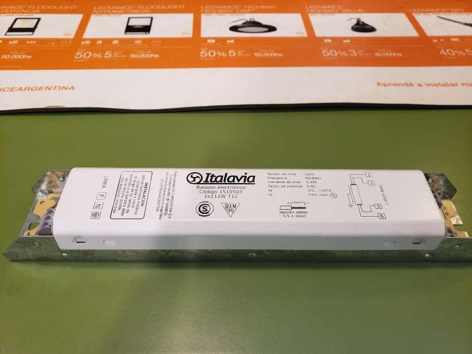 Reactancia Electrónica 105w Italavia
