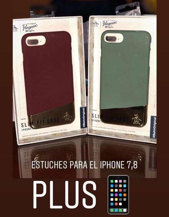 VENDO CARCASA PROTECTOR PARA iPHONE 7 y 8 PLUS 18.50